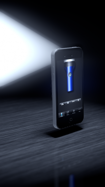 Flashlight for iOS Devices - iphone1