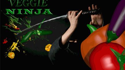 Veggie Ninja - iphone1