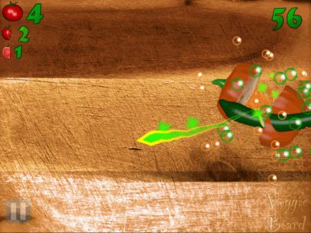 Veggie Ninja - ipad2