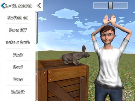 Baby Sign 3D - ipad2